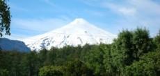 Vulcão Villarica, agora visível