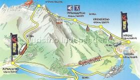 Trajeto até o Monte Pilatus