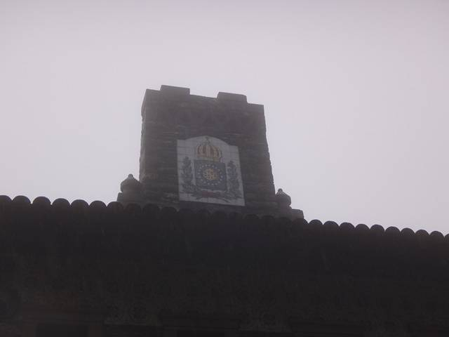 Símbolo da Corte Portuguesa, no Rancho da Maioridade.
