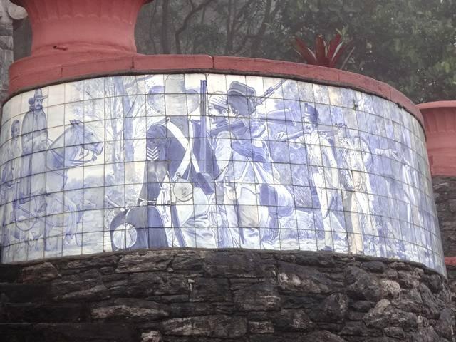 Azulejos no Padrão do Lorena.