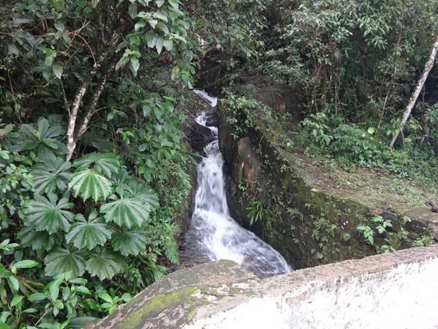 Cachoeira ao lado da Estrada.