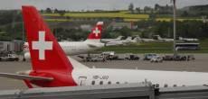 Voando para Atenas com a Swiss