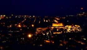 De onde ver a Acrópole do alto