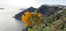 Navegando pelo Mar Egeu até Santorini
