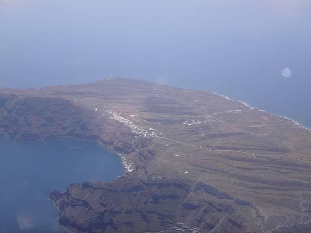 Ilha de Thirasia, Grécia.