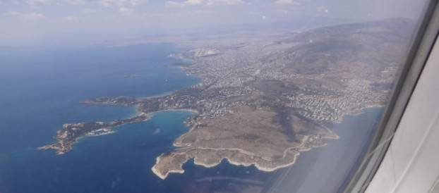 De Santorini para Roma via 'Lowcost'