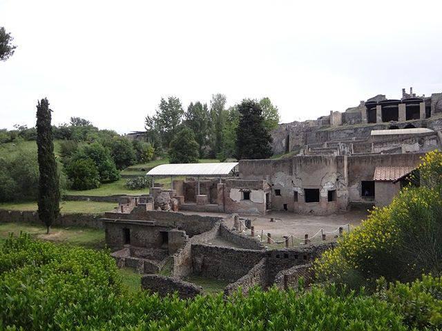Pompeia: banhos suburbanos
