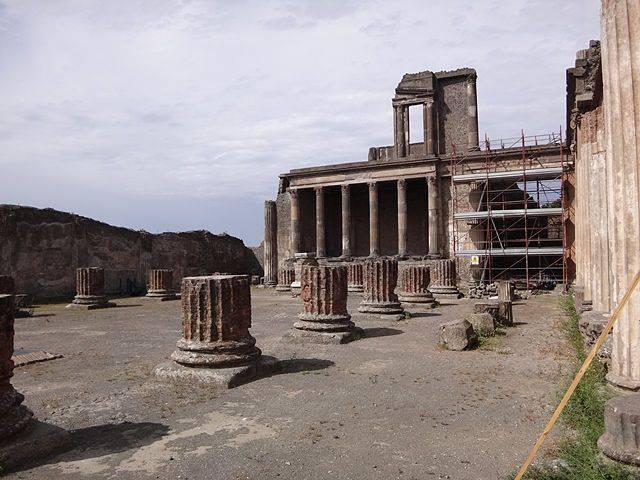 Pompeia: Basílica