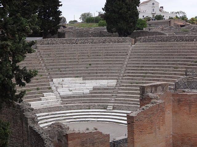 Pompeia: o grande teatro