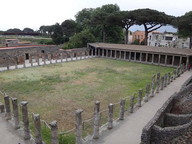 Pompeia: quartel dos gladiadores