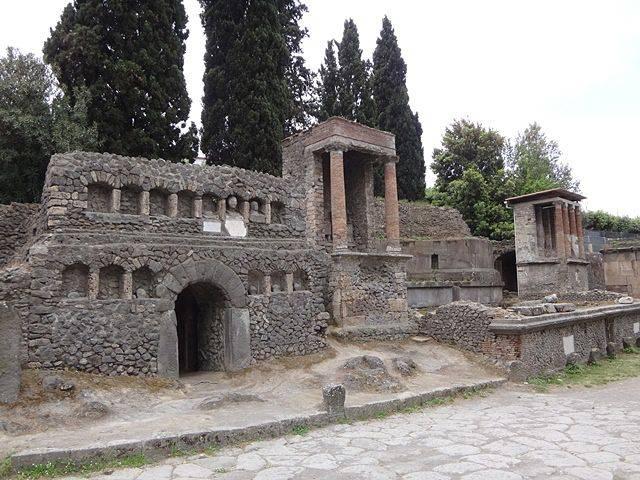 Pompeia: Necrópolis do Portão de Nocera