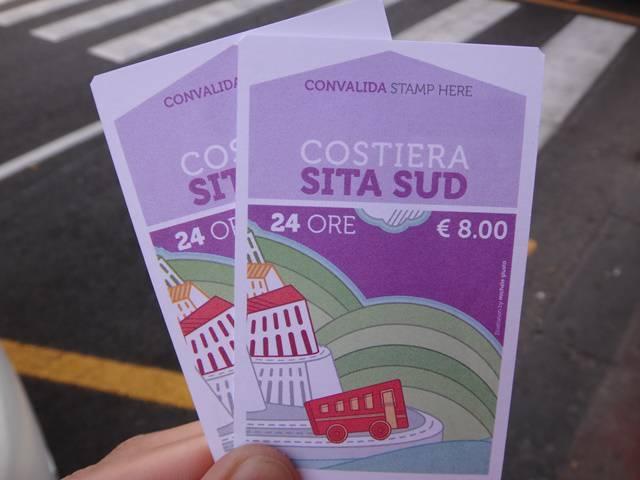 Passagens de 24 horas para Costa Amalfitana.