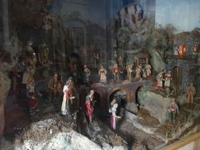 Maquete na Catedral de Positano.