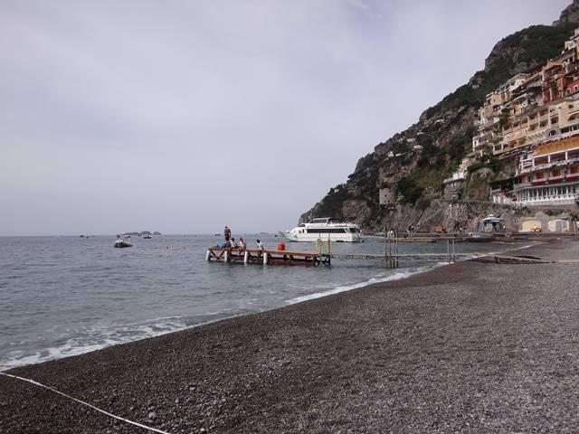 Positano - Marina Grande: praia pública.
