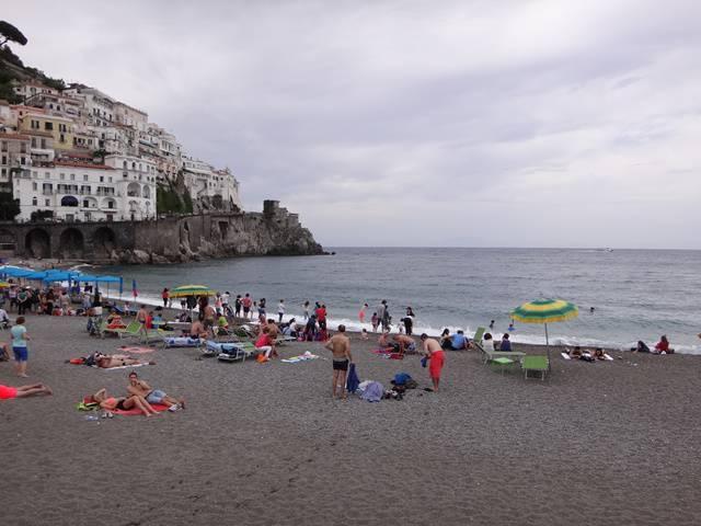 Praia de Amalfi.