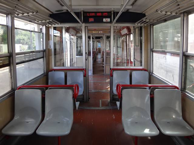 Trem da Circunvesuviana.