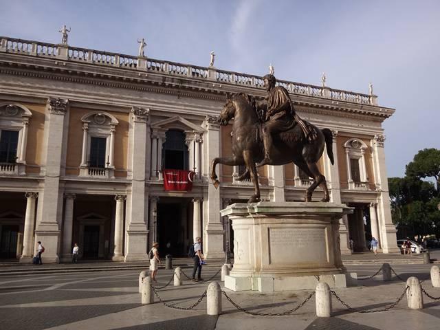 Piazza del Campidoglio.