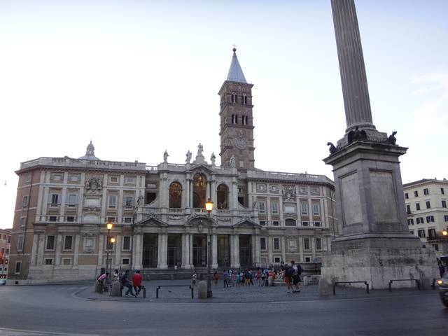 Basílica Santa Maria Maggiore, em Roma.