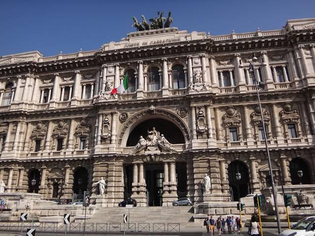 Roma: Palácio da Justiça.