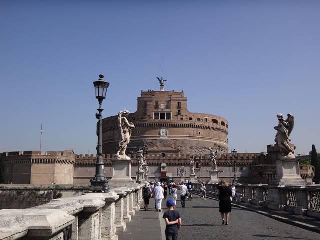 Roma: Castelo de Sant'Angelo.