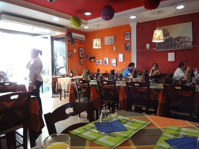 Restaurante Holiday, em Roma.