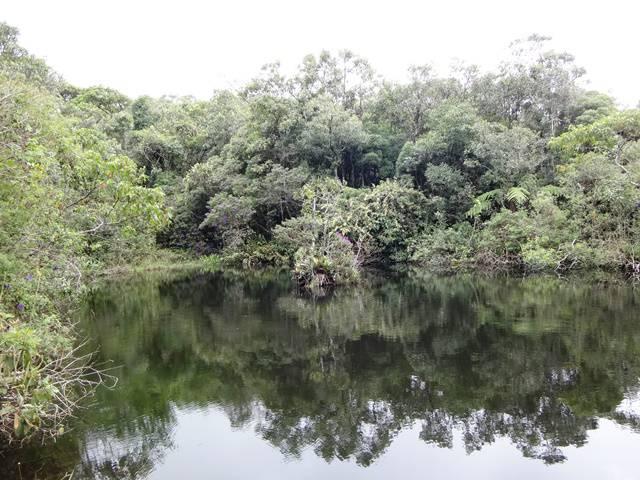 Lago na Serra do Lopo