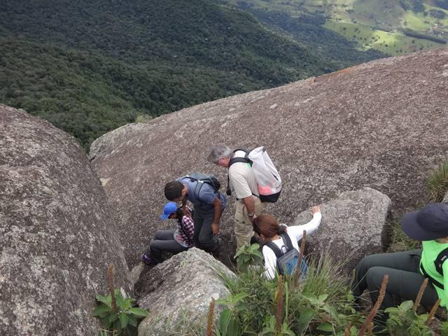 Depois de escalar para subir, hora de descer