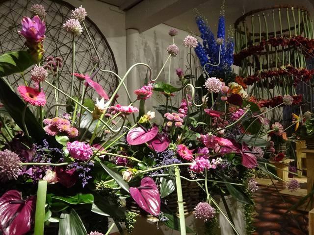 Exposição de Arranjos Florais.