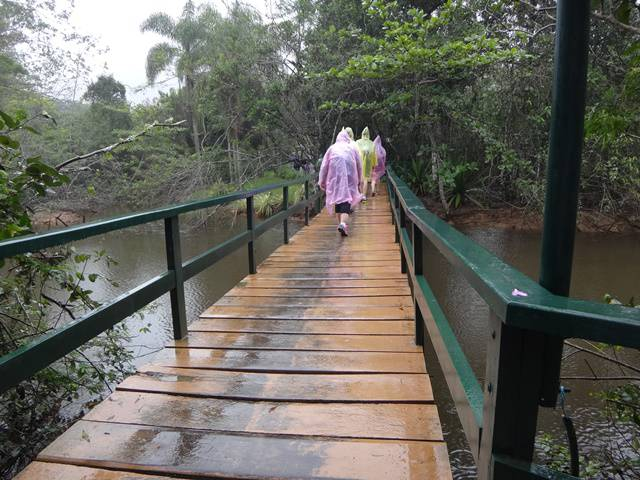 Ponte sobre o Rio Lagoinha.