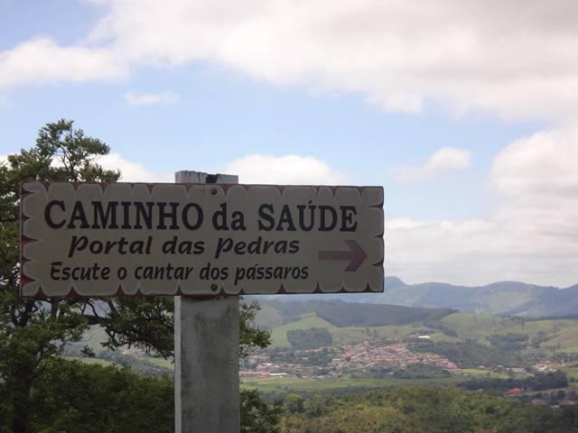 Hotel Atibainha - Trilha Caminho da Saúde.