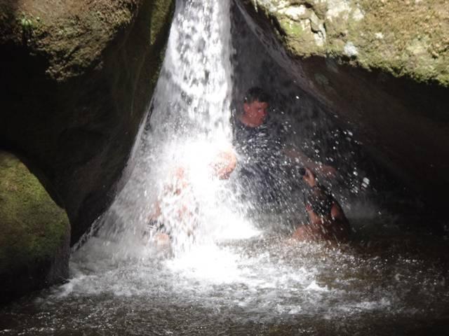 Ubatuba: queda d'água