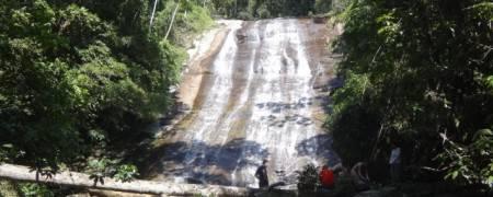 Ubatuba: Cachoeira Véu da Noiva