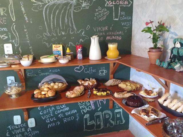 Pousada Recanto do Lora - Café da Manhã