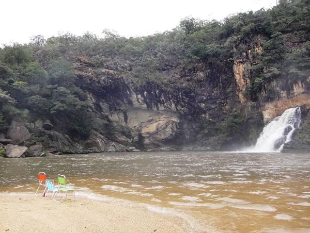 Prainha e Cachoeira Maria Augusta (queda menor).