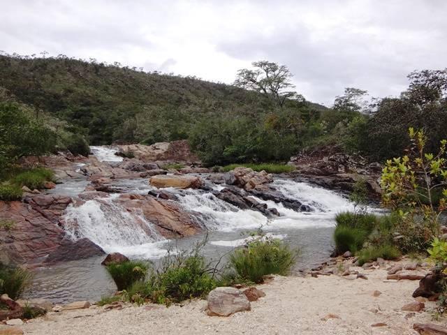Cachoeira do Quilombo, parte baixa.